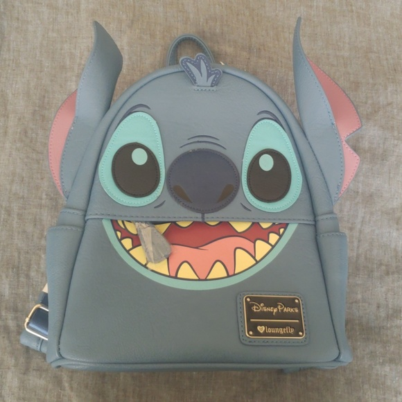 cacd82029ba Loungefly + Disney Parks Lilo   (Stitch) Backpack